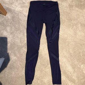 ALO Yoga Epic Navy Blue long leggings XS